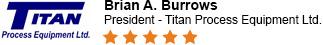 Titan Process Equipment Ltd. Review